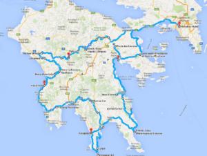 grece-peloponnese-carte-lariviere-voyages-moto